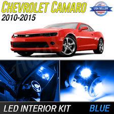 Blue LED Interior Lights Package Kit for 2010-2017 Chevrolet Camaro