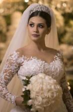 New White/ivory Wedding dress Bridal Gown custom size 6-8-10-12-14-16-18++++