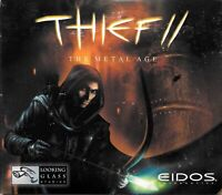 PC CD-ROM Game - Thief II 2 The Metal Age (2000) Eidos With Instruction Manual