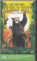 PAL VHS VIDEO TAPE :  THE SECOND JUNGLE BOOK, MOWGLI & BALOO