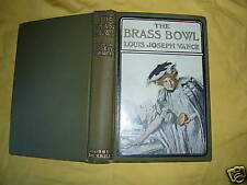 The Brass Bowl Louis Joseph Vance-Bobbs Merrill-#1 1907