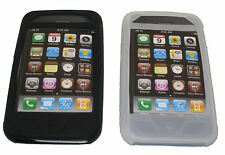 Scosche IP3GS2 Black & Clear Soft Silicone Case/Skin Cover for iPhone 3G & 3GS