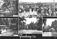 AK, Freiberg Sachs., fünf Abb., 1979