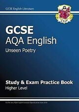 GCSE English AQA Unseen Poetry Study & Practice Book Higher Level by Parsons, Ri