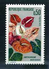 FRANCE - 1973 yvert 1738 - Fleur, Anthurium - neuf**