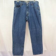 Levi's 505 Straight Leg Jeans 550 Denim W36 x L32 Mens Relaxed Fit Cotton