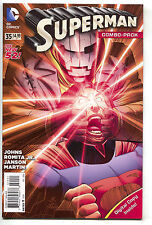 Superman 35 3rd Series DC 2014 NM New 52 Combo Pack Variant