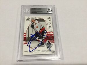 Mark Giordano Signed Autographed SP Authentic RC Card Slabbed Beckett BAS COA b