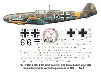 Peddinghaus 1//32 Bf 109 F-2 Markings Walter Nowotny 1.//JG 54 Ryelbitzi 1942 3264