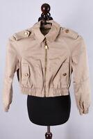 Girls Burberry London Short Cotton Jacket Size 12 Years / M