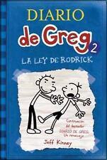 Diario de Greg: La Ley de Rodrick 2 by Jeff Kinney (2009, Paperback)