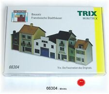 Trix Minitrix 66304 N Gauge Kit French City Houses # New Original Packaging #