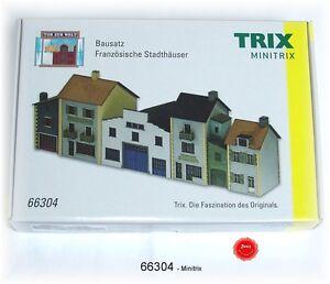 TRIX Minitrix 66304 Spur N Bausatz Französische Stadthäuser #NEU in OVP#