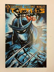 TEENAGE MUTANT NINJA TURTLES : SHREDDER IN HELL #1 : RARE IDW LIMITED COVER : NM