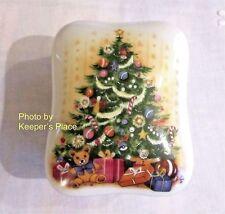 Royal Yarmouth O CHRISTMAS TREE Porcelain Limited Ed Musical Trinket Box 1986