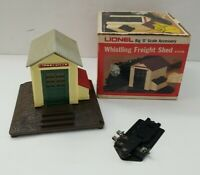 LIONEL Train Accessory 6-2126 Whistling Freight Shed Station House NOT COMPLETE