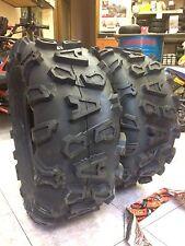 2 Gomme Posteriore Pneumatici X Quad 25x10-12 50J  Cst Abuzz 6 Tele M+S