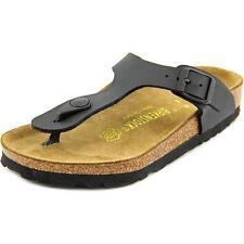 63f1c72626d Birkenstock 043691 Gizeh Black Fabric Ladies Sandals Various Sizes 39 EU