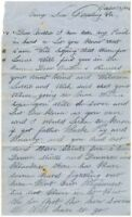 183rd PA Infantry ALS 1864 -  Signed