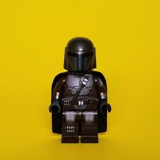Lego Custom The Mandalorian Beskar Armor WITH CAPE Series Minifigure UV Printed