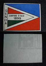 ***CALCIATORI RITMO CALTAGIRONE 1968/69*** SCUDETTO GENOA 1899
