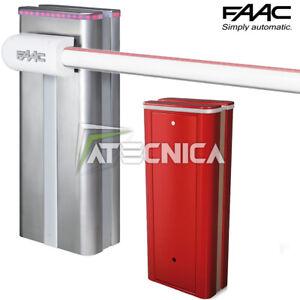Barrier Automatisch 24V faac B680H 104680 Elektronik Und Ständer Barrier Max 8m
