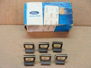 NOS Ford 6 D9BZ-5421952-B door lock rod retainer clips Bronco Mustang