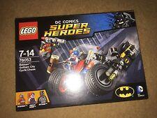 LEGO 76053 BATMAN GOTHAM CITY CYCLE CHASE DC COMICS NEW AND SEALED