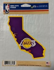 Los Angeles Lakers Home State Sticker California CA Die Cut Decal New Color Logo