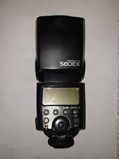 Canon Speedlite 580EX Shoe Mount Flash with Canon case