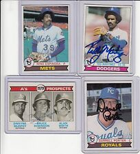 1979 Topps signed Bruce Robinson  signed autograph with COA