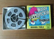 Cinta Pelicula Super 8mm.B/N Castle Films  Woody woodpecker niagara fools
