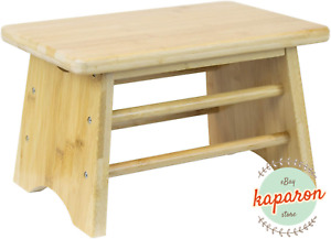 Wooden Bedside Step Stool Indoor & Outdoor Mobility Step Stool Portable One Step