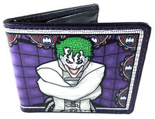 DC COMICS THE JOKER STRAIGHT JACKET BIFOLD WALLET CREDIT CARD PHOTO ID HOLDER