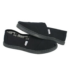 Toms Youth Classic 12001C13 All Black Kids US size 3, 21.4 CM