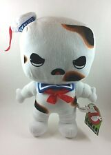 "Ghostbusters Stay Puft on Fire Marshmallow Plush Stuffed Doll 10"" Super Rare!"
