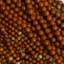 Red Jasper 6mm Natural Gemstone Rondelle Beads 15 Inch Loose