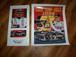 Dale Earnhardt Sr.--2 Posters--N.O.S.
