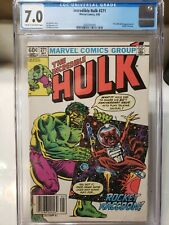 Incredible Hulk #271 CGC 7.0 1st COMIC APPEARANCE OF ROCKET RACCOON