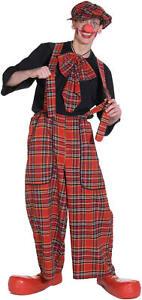 Clochard Latzhose Clown Hose Karneval Fasching Kostüm S-XL