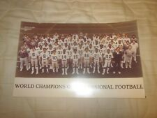 1981 Oakland Raiders NFL World Champions 8 1/2 X 13 1/2 Team Photo #1