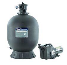 Hayward Sandmaster S244T In-Ground Swimming Pool Filter Tank System w/1 HP