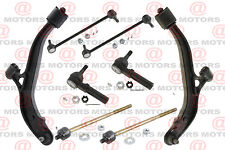 For Voyager Caravan Front Lower Control Arms Sway Bar Link Inner Outer Tie Rods