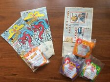 McDonald's Happy Meal Bags, Toys 1995 - Spiderman, Saban's VR Troopers