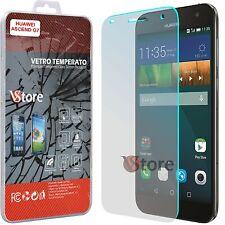 Pellicola in Vetro Temperato Per HUAWEI ASCEND G7  Proteggi Shermo Display LCD