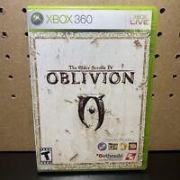 The Elder Scrolls IV: Oblivion COMPLETE-Microsoft Xbox 360-w/ Manual But No Map