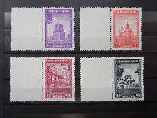 Serbien Deu.Besetzung  1941-44  Nr. 71+72+80+81 m.Leerf.links  (S-542)