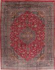Floral Traditional Area Rug Wool Hand-Knotted Oriental Medallion Carpet 10x13