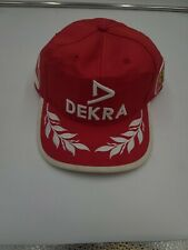 Official Dekra Ferrari Formula F1 Michael Schumacher Team PPM Cap Hat