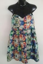 Ladies Forever New dress size 12 small floral party races wedding rockabilly